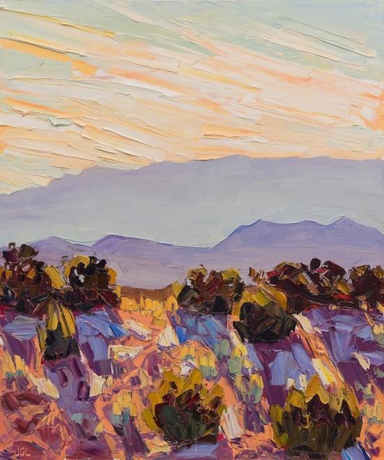 Santa Fe Overlook #6, Midday Shadows