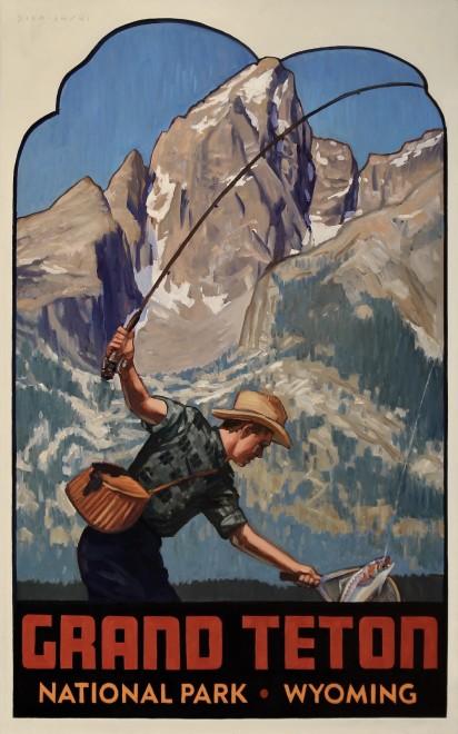 Dennis Ziemienski, Grand Teton Decal