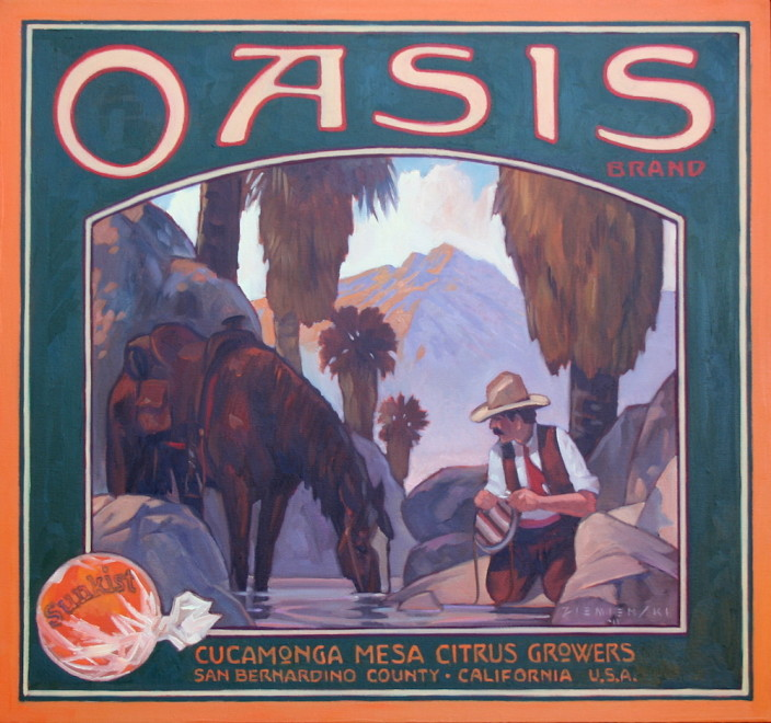 Dennis Ziemienski, Oasis Brand
