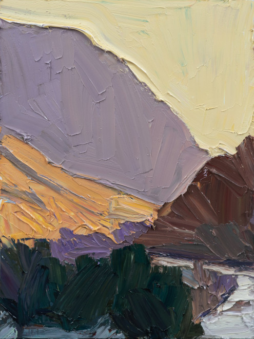 Jivan Lee, Sunset Ridgeline #1