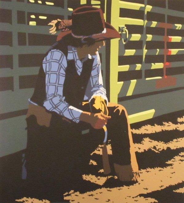 Billy Schenck, Lonestar #8/53, c. 1981