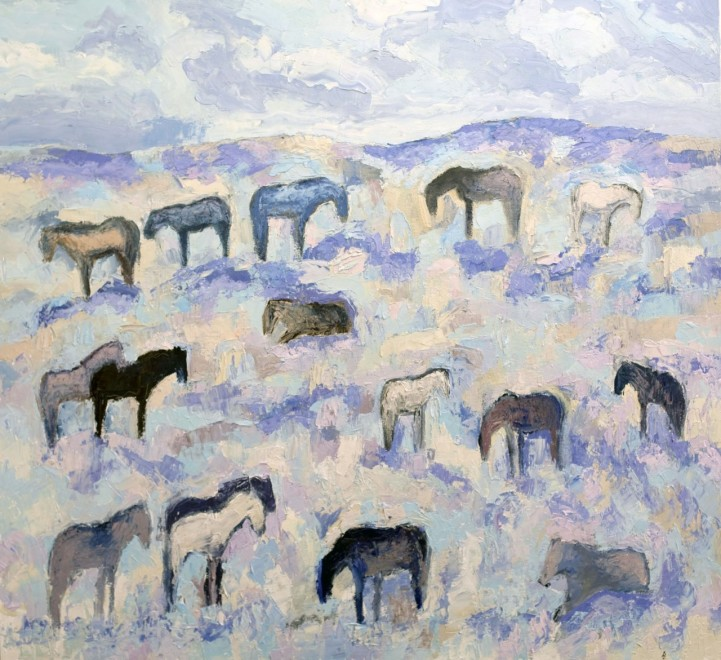 Theodore Waddell, Red Lodge Horses #3