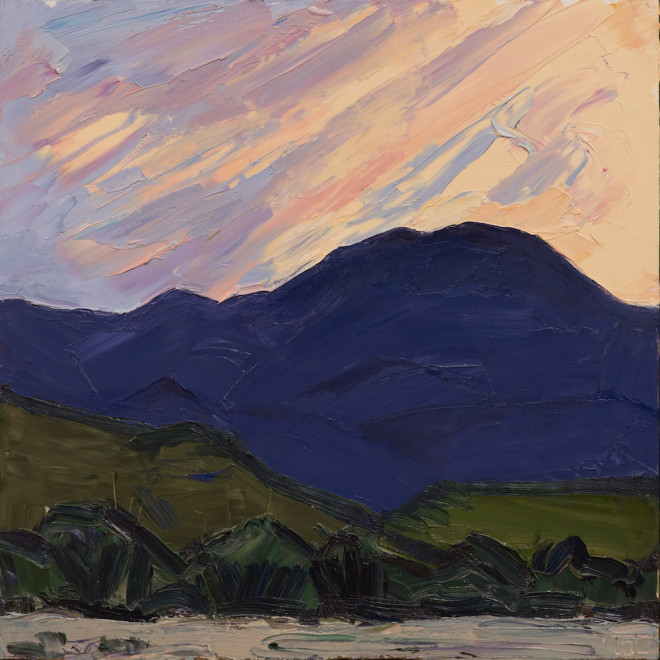 Jivan Lee, Dusk from the Driveway