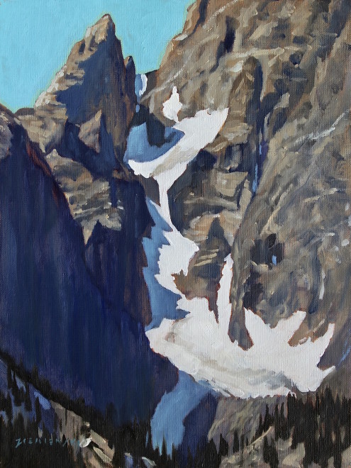Dennis Ziemienski, Teton Icefall