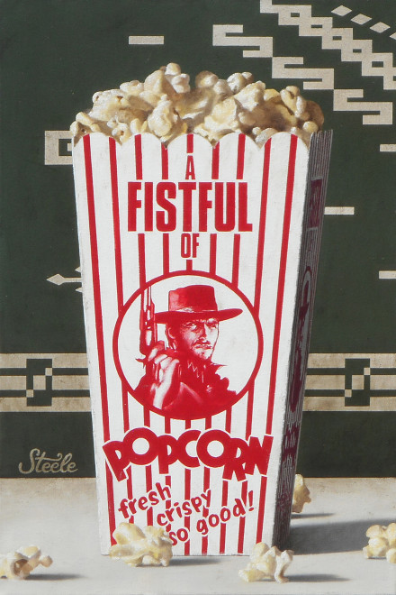 Ben Steele, A Fistful of Popcorn