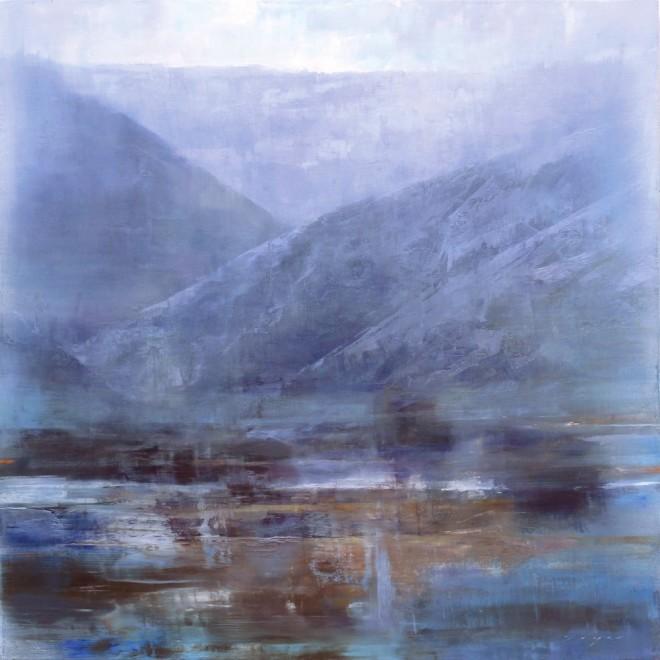Douglas Fryer, Moonlit Fields and Canyon