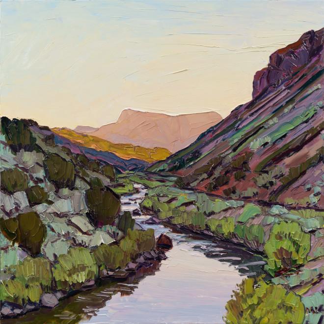 Jivan Lee, River Bends - Stillness Before the Day