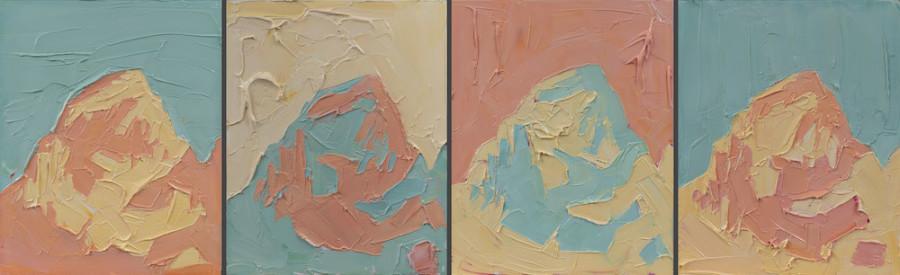 Jivan Lee, Grand Teton, Summer Palette