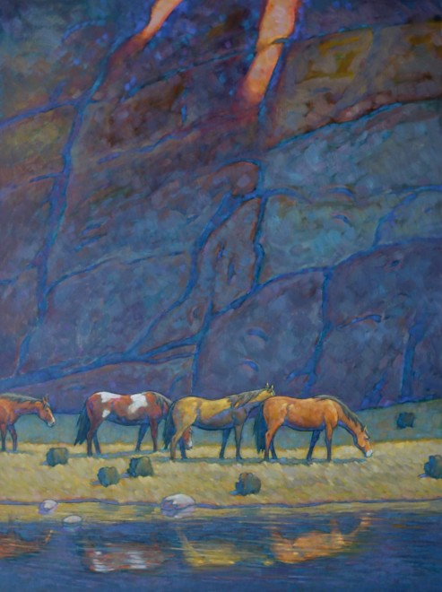 Howard Post, Grazing the Canyon
