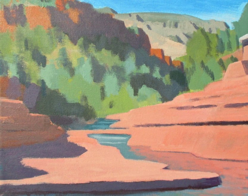 Travis Walker, Slide Rock State Park No. 1