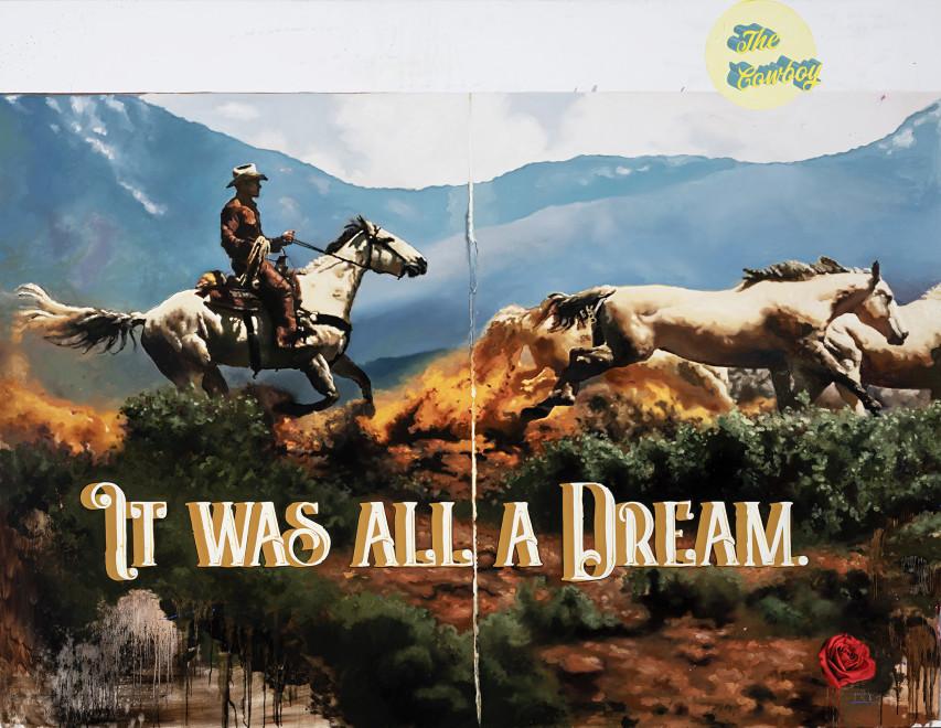 Geoffrey Gersten, It Was All a Dream, 2020