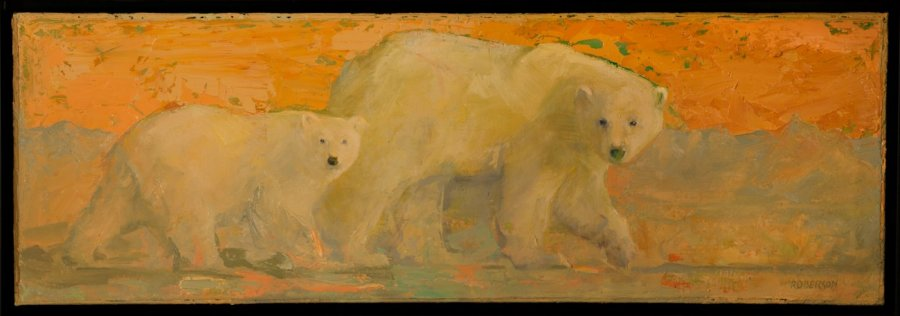 Mary Roberson, For the White Bear