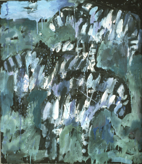 Works on Paper by Theodore Waddell, Val's Zebra Dr #2, 1995