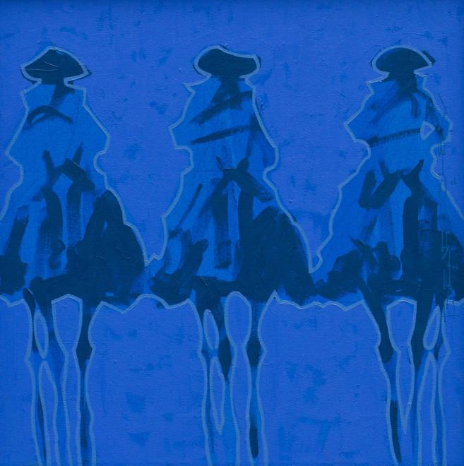 Duke Beardsley, Vaqueros Brillantes- Azul