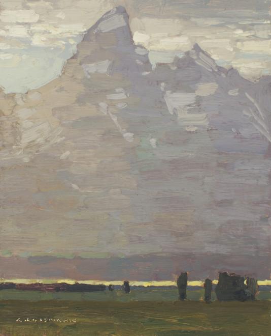 David Grossmann, Teton and Glowing Valley