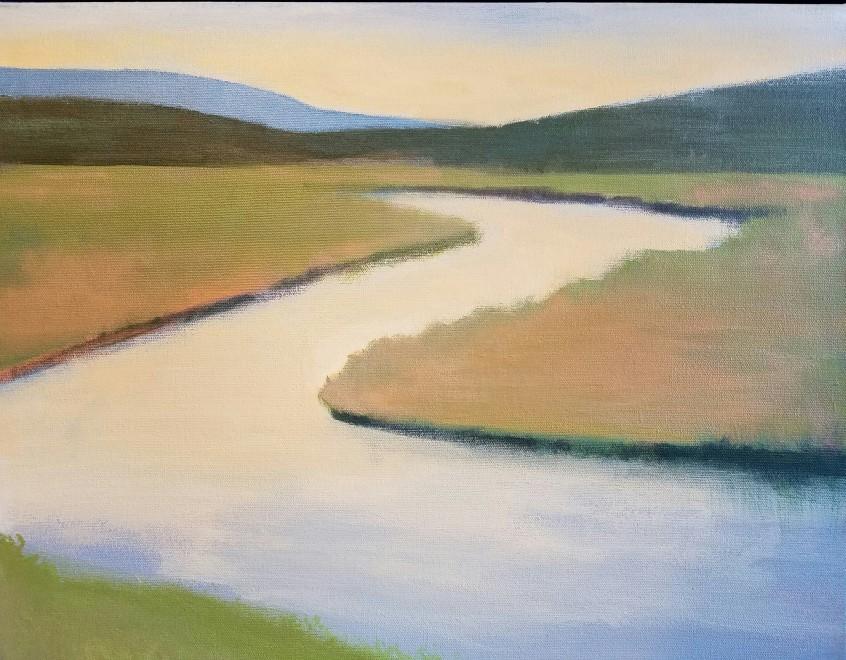 Travis Walker, Sun in Your Eyes (Firehole River)