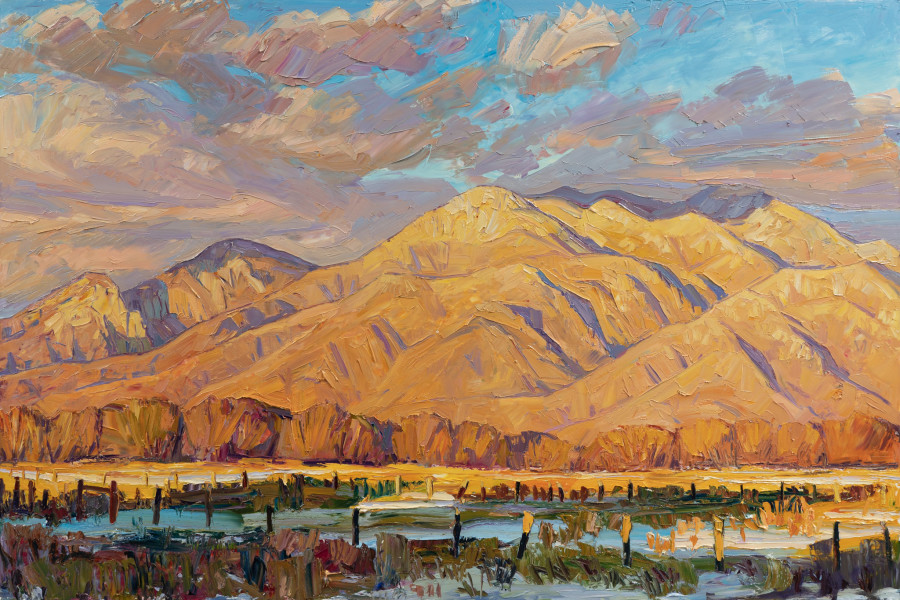 Jivan Lee, Taos Mountain - Happy New Year