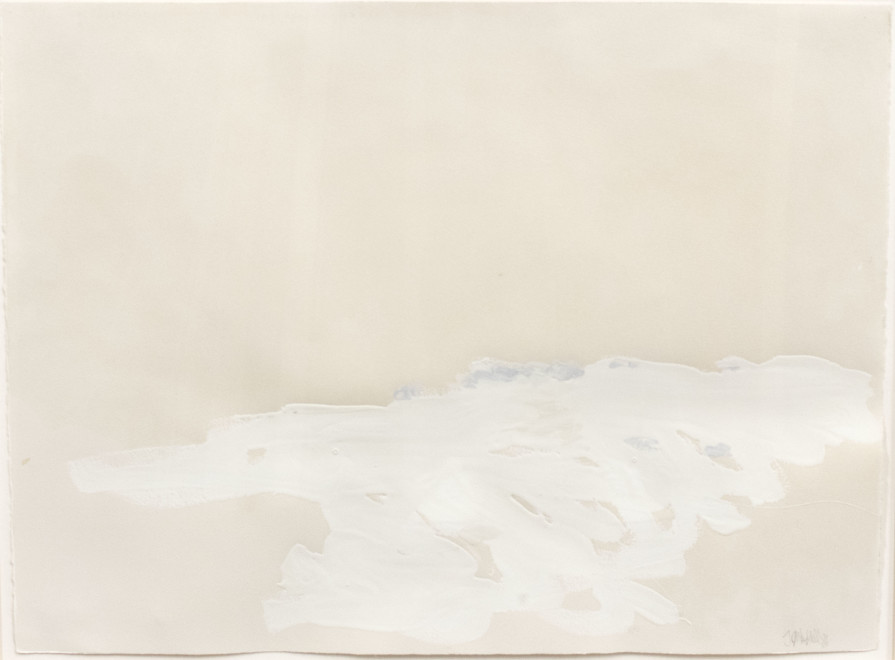 Works on Paper by Theodore Waddell, Charolais Drawing 18, 1984