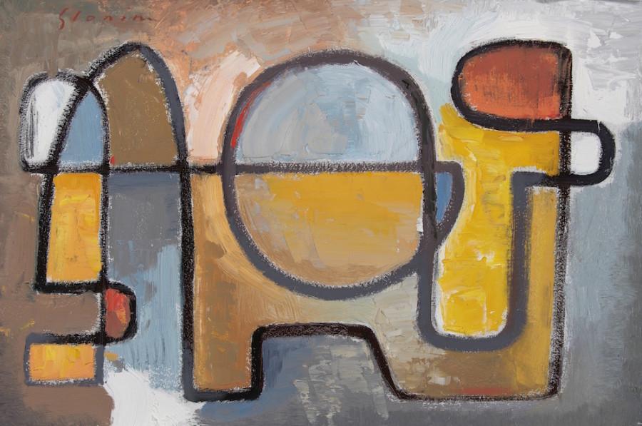 David Michael Slonim, Reclining Figure