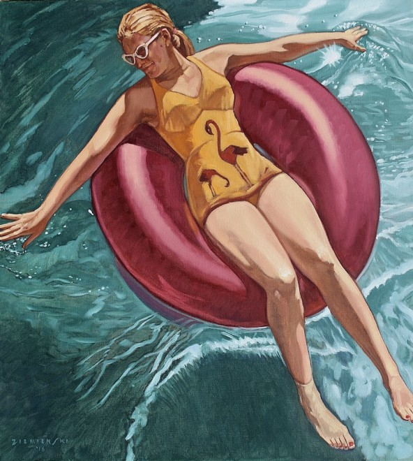 The Flamingo Bathing Suit