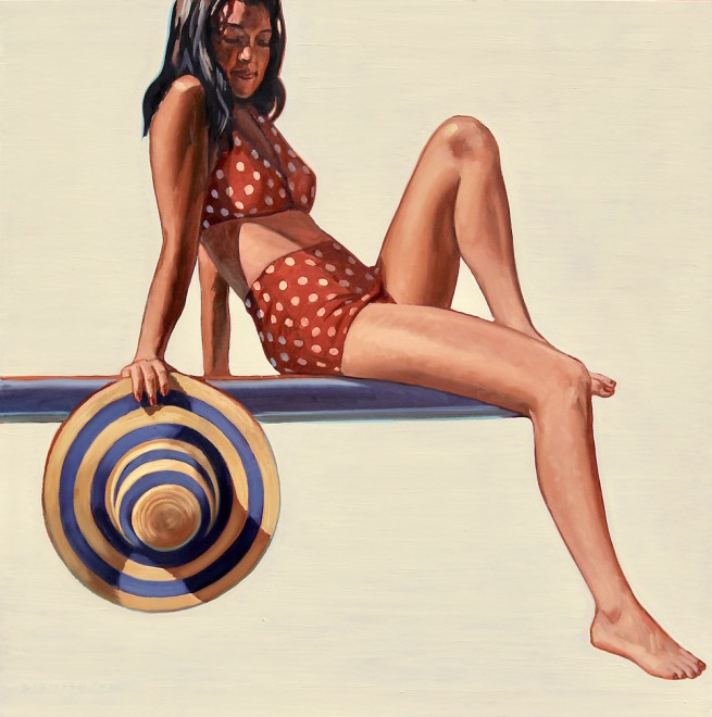 Red Polka-Dot Suit