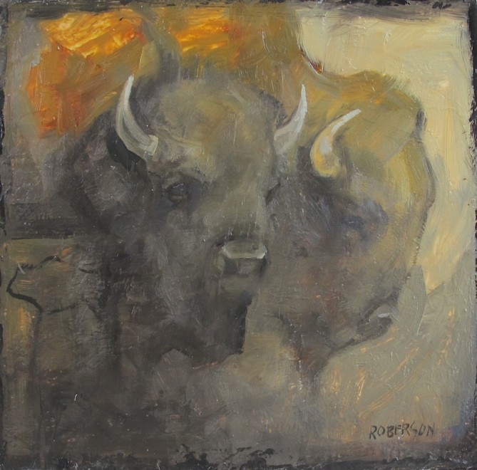 Mary Roberson, Bison 0388