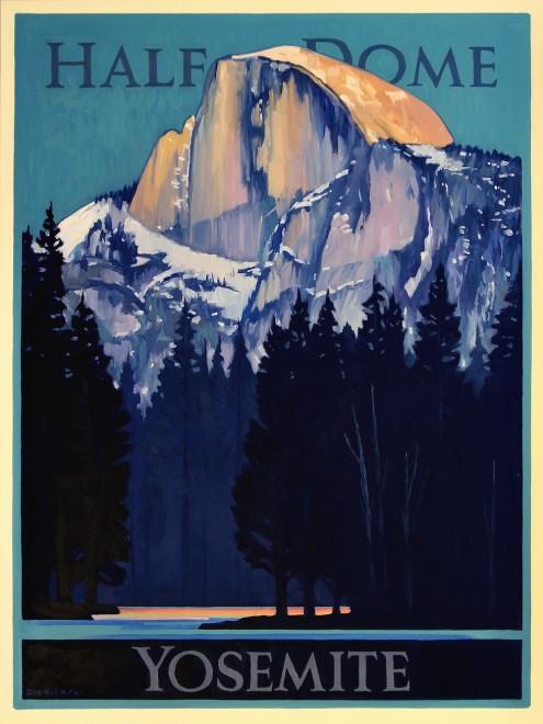 Dennis Ziemienski, Half Dome, Yosemite