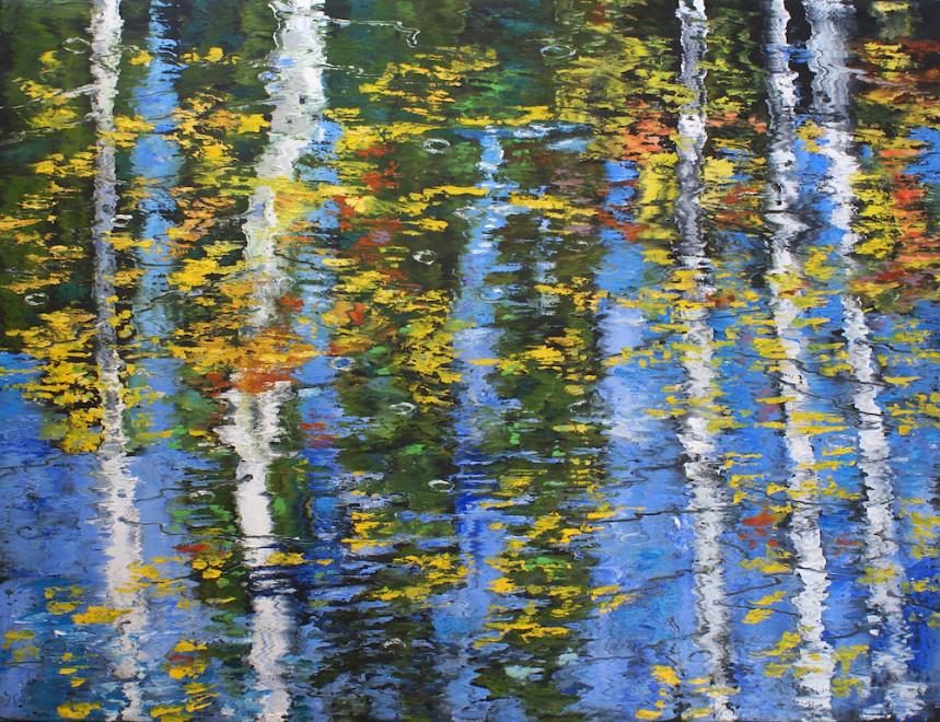 James Pringle Cook, Oak Creek Raindrops #2