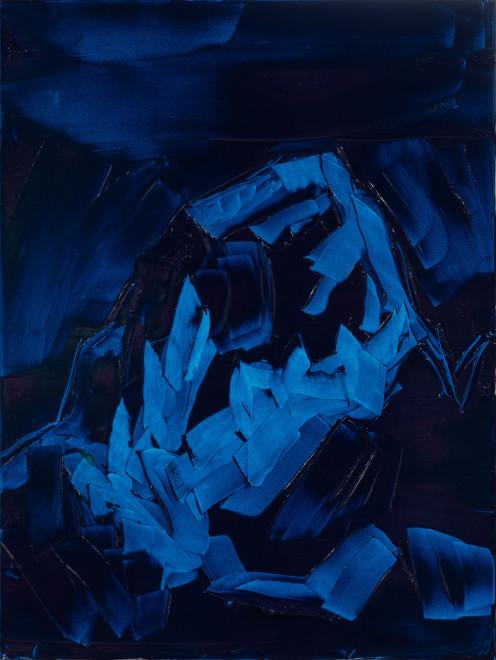 Jivan Lee, Grand Teton, ROYGBIV #2, Blue (pthalo blue)
