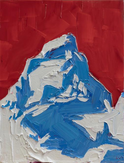 Grand Teton, Red, White, and Blue