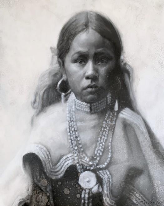 David Frederick Riley, Jicarilla Girl
