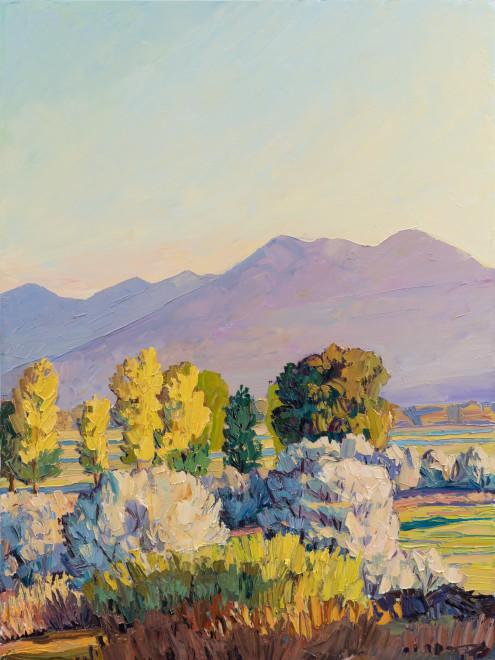 Jivan Lee, Sunrise Over Ranch Lands