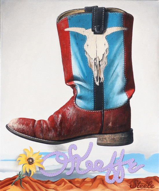 Ben Steele, Red, White and Boot