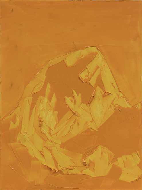 Jivan Lee, Grand Teton, ROYGBIV #2, Yellow (Hansa yellow deep)