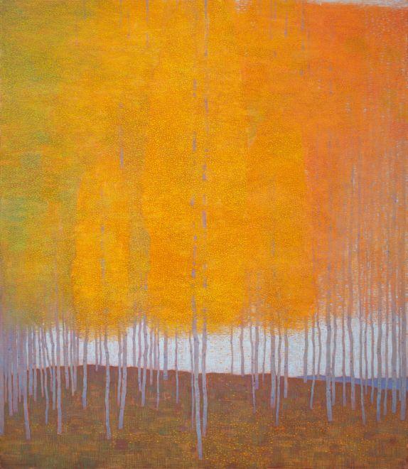 David Grossmann, Autumn Colors and White Sky, 2020