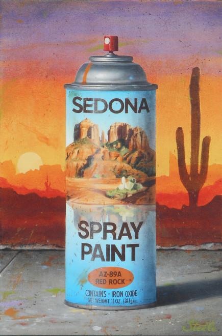 Ben Steele, Sedona Spray Paint