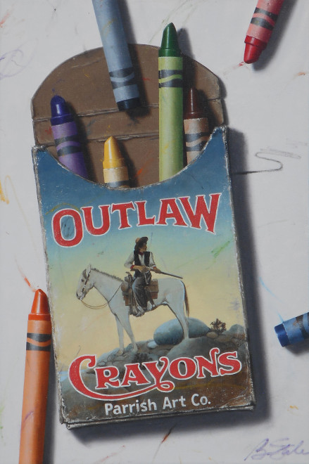 Ben Steele, Outlaw Crayons