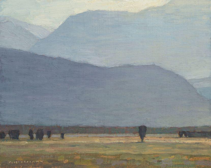 David Grossmann, Afternoon Hills from Antelope Flats