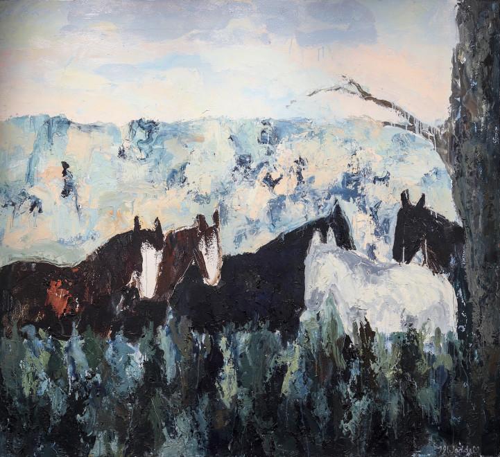 Theodore Waddell, Quarterhorse Noon #4