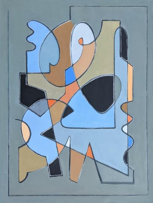 David Michael Slonim, Artist at the Easel