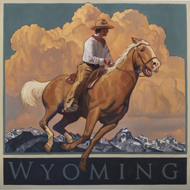 Dennis Ziemienski, Fly Like the Wyoming Wind