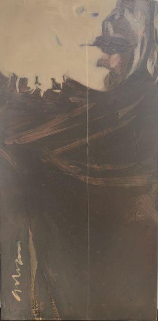 Erica Vhay, Black Scarf