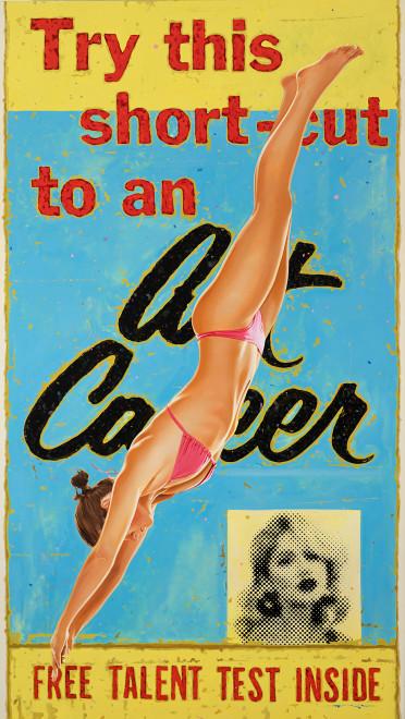 Geoffrey Gersten, Art Career