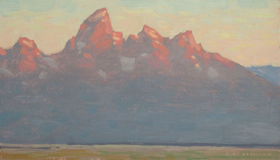 David Grossmann, Early Morning with the Tetons