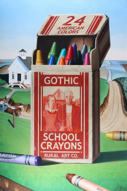 Ben Steele, Gothic School Crayons