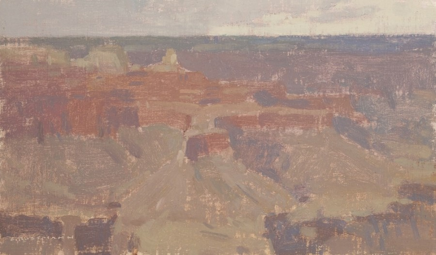 Clouded Afternoon Light, Grand Canyon Study