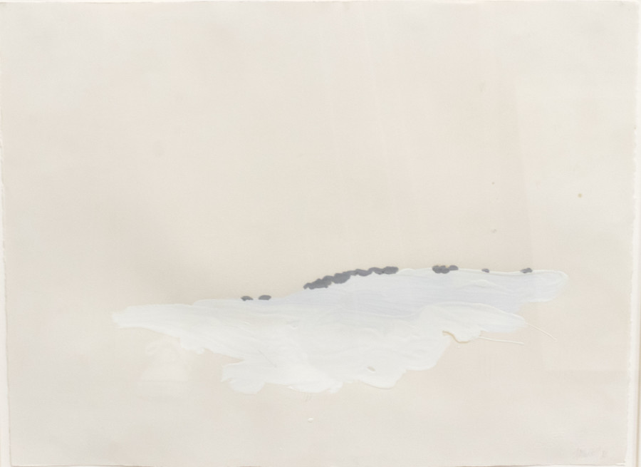 Works on Paper by Theodore Waddell, Charolais Drawing 21, 1984