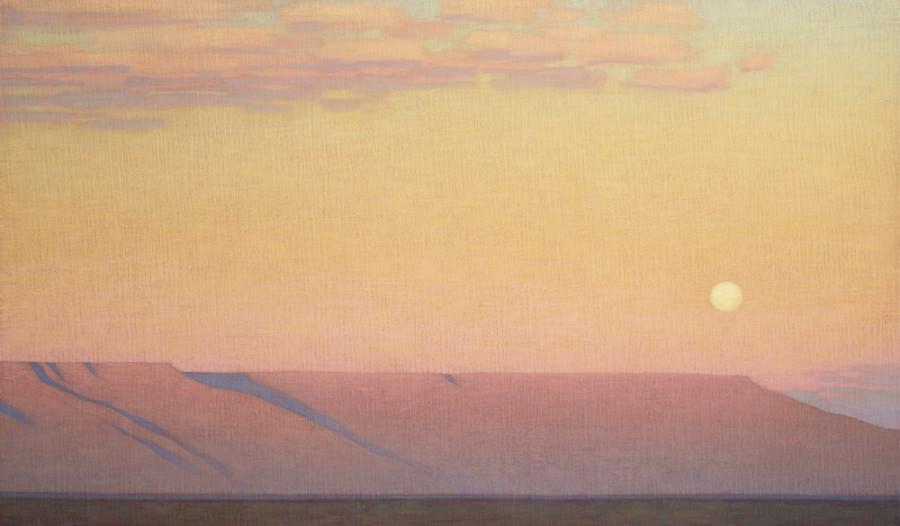 David Grossmann, Moon Rising South of the Mesa