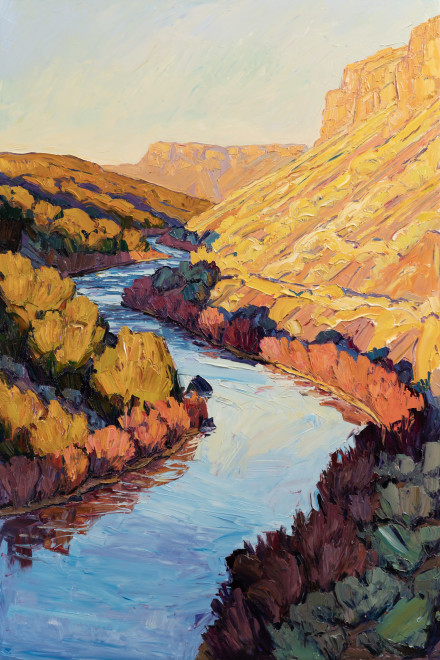 Jivan Lee, River Bends - Big Sunset