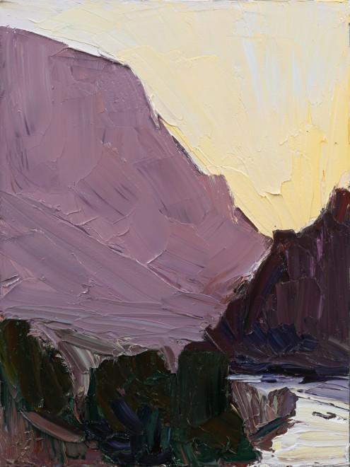 Jivan Lee, Sunset Ridgeline #2